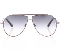 Sonnenbrille in Piloten-Optik