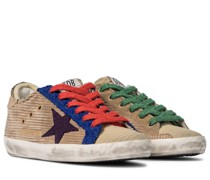 Sneakers Superstar aus Cord