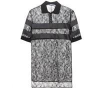 Poloshirt aus Spitze