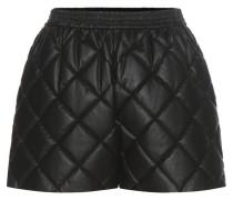 Shorts Cesira aus Lederimitat