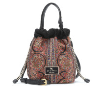 Bucket-Bag aus Jacquard