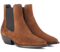 Chelsea Boots Theo 45 aus Veloursleder