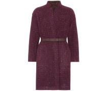 Mantel Morgan aus Wolle und Cashmere