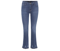 Cropped Jeans Selena Mid-Rise