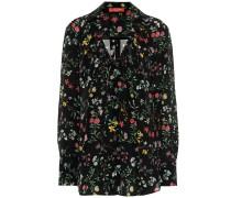 Bedruckte Bluse Bowie aus Seide
