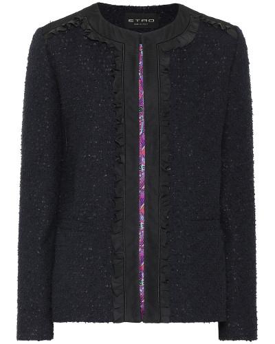 Jacke aus Bouclé