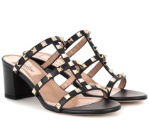 Garavani Sandaletten Rockstud aus Leder