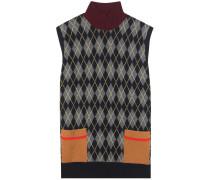 Oversize-Pullunder aus Wolle