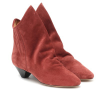 Ankle Boots Doey aus Veloursleder