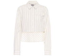 Cropped-Hemd Mayuri aus Baumwolle