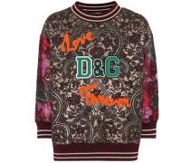 Sweatshirt aus Jacquard