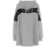Oversize-Hoodie aus Baumwolle
