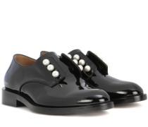Schuhe Masculine Pearls aus Lackleder