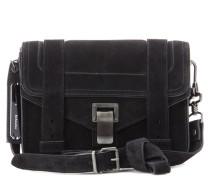 Crossbody-Tasche PS1 Mini aus Veloursleder