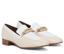 Loafers Sailor Knot aus Leder
