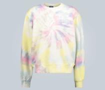 Batik-Sweatshirt aus Baumwolle