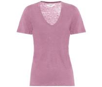 T-Shirt Kranger aus Leinen