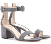 Sandalen Versilia aus Veloursleder