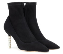 Ankle Boots Coco aus Veloursleder