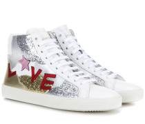 Sneakers SL/06 Court Classic Love aus Leder