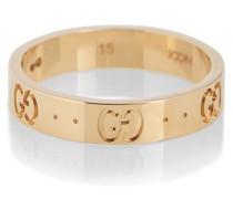 Ring Icon aus 18kt Gelbgold