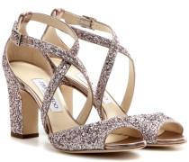 Sandaletten Carrie 85 mit Glitter