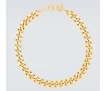 Vergoldete Halskette X Charley