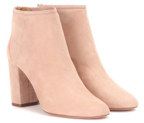 Ankle Boots Downtown 85 aus Veloursleder