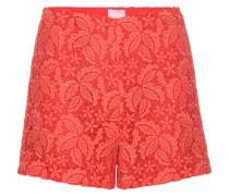 Shorts aus Guipure-Spitze