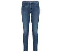 Mid-Rise Skinny Jeans Le Garçon