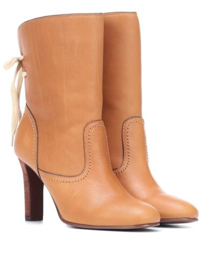 Ankle Boots Lara aus Leder