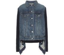 Asymmetrische Jeansjacke