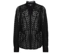 Bestickte Bluse Terzali aus Baumwolle