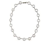 Halskette aus Silber mit Zirkonia-Kristallen
