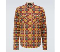 Kariertes Hemd Matlock aus Baumwolle