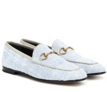 Loafers Jordaan aus Tweed