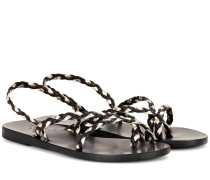 Sandalen Yianna aus Leder