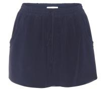 Shorts aus Seidencrêpe