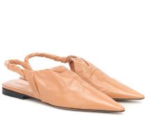 Slingback-Ballerinas BV Point aus Leder