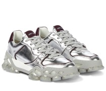 Sneakers Diamond x Trainer aus Leder