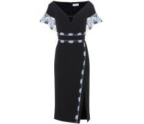 Verziertes Off-Shoulder-Kleid aus Cady