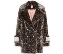 Mantel Gavin aus Faux Fur