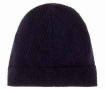 Mütze aus Schurwolle, Seide und Cashmere