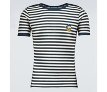 Disney x Gestreiftes T-Shirt aus Baumwolle