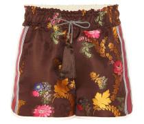 Shorts aus Brokat