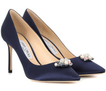 Pumps Alexa 85 aus Satin