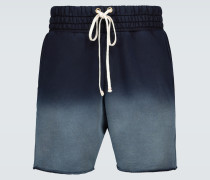 Batik-Shorts aus Baumwolle