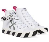 High-Top-Sneakers Vulcanized aus Canvas