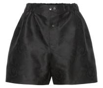 Jacquard-Shorts aus einem Seidengemisch