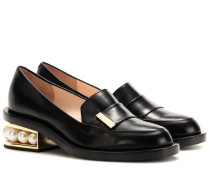 Verzierte Loafers Casati aus Leder